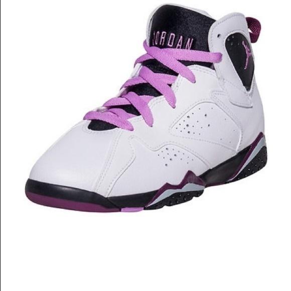 fbdccb77d83 Jordan Shoes | Nike 7 Retro Vii Gp Sz 12c White Fuchsia | Poshmark
